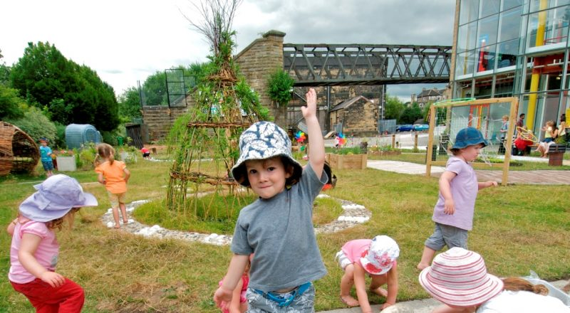 Early years week: nature inside out