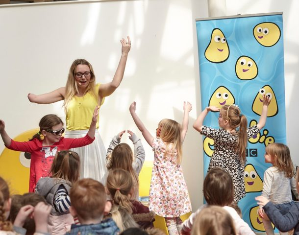 Story time with CBeebies presenter Cerrie Burnell