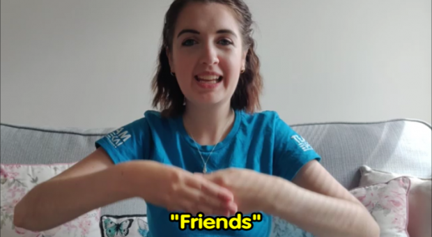 BSL with Leanne – signs for friends, family and around your home
