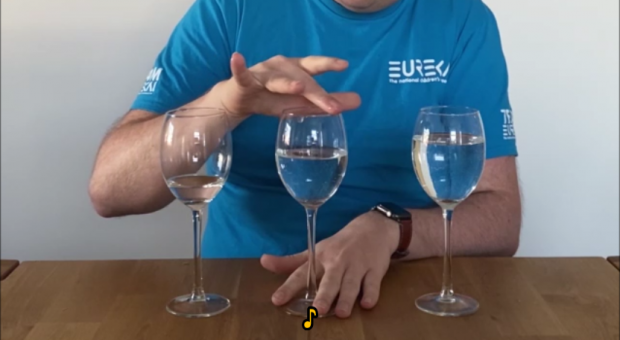 Eureka! At Home: 🍷🎵 Make a wineglass sing! 🍷🎶